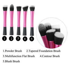 Techniques Brushes Face Powder Foundation Contour Blush Cosmetic Makeup Tool Hot