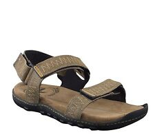Woodland Men'S Khaki Casual Sandal (Gd 1382114)