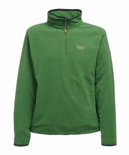 Regatta Mens Langdale Fleece Lightweight 1/2 Zip Green