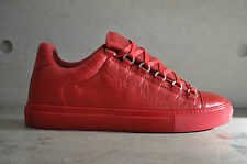 Balenciaga Arena Low Top Sneakers - Red