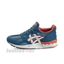 Scarpe Asics Gel Lyte V GS c541n 4510 bambino running Blue Soft Gray