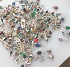 SALE ! MIX JEWELRY ! .925 STERLING SILVER OVERLAY WHOLESALE EARRING LOT