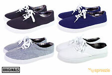 Mens Canvas Shoes Lace Up Casual Colors Sneakers Kicks Originals Lowtop Foo