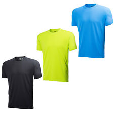 MENS HELLY HANSEN WORKWEAR LIGHTWEIGHT TECH T-SHIRT 75250 BLACK, BLUE OR LIME