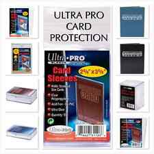 Ultra Pro Card Protection Binders Toploaders Match Attax Pokemon MTG Protectors