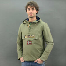 Napapijri RAINFOREST SLIM SUMMER MILITARY Verde Militare mod. RAIN-G42