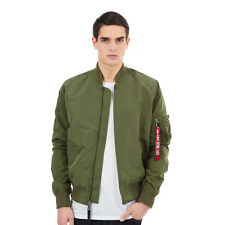Alpha Industries - MA-1 TT Flight Jacket Sage Green Bomber Jacke College