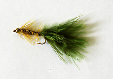 Olive Damsel Choice of Size Trout Pike Bass Fishing Flies