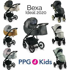 Baby Pram IDEAL NEW PPG4KIDS Pushchair Buggy Stroller + Car Seat,Travel System