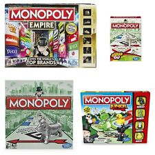 Monopoly Board Games Traditional Empire Junior Travel Family New Boxed