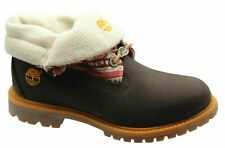 Timberland Earthkeepers EK Authentics Fabric RT Roll Top Womens Boots 8316A T1