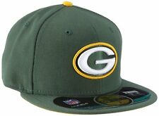 New Era 59FIFTY NFL On Field Green Bay Packers Adult Fitted Baseball Cap
