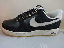 Nike Air Force 1 Mens Casual Shoes 488298 095 NEW Sneakers Trainers Black