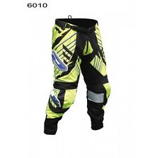PRPGRIP 6010-16 ADULT MX MOTOCROSS OFF ROAD ENDURO PANTS TROUSERS F YELLOW