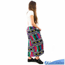 Gonna donna ragazza lunga maxi stile  etnica tribale estate  in cotone  DEGON002
