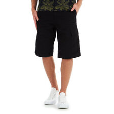 "Carhartt WIP - Regular Cargo Short ""Columbia"" Ripstop, 6.5 oz Black Rinsed Hose"