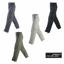 James & Nicholson Herren Zip-Off Trekking Hose JN1028 2 in 1 Hose Outdoor