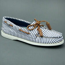 Sperry Top Sider SEERSUCKER W Bianco/Blu mod. RIGHE