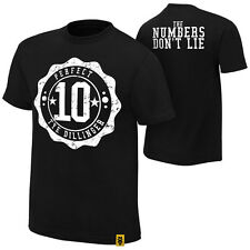 "WWE Tye Dillinger ""The Numbers Don't Lie"" Authentic T-Shirt *NEU* S M L XL - 5XL"