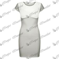Womens Ladies Celeb Inspired Kim Kardashian Padded Bra Mesh Insert Bodycon Dress