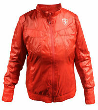 Puma SF Ferrari Lightweight Red Polyester Full Zip Womens Jacket 565451 02 UA60