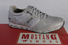 MUSTANG Mocassins Chaussures Sport Chaussures basses simili-cuir gris NEUF