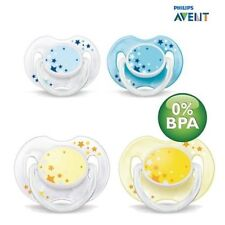 Philips Avent SCF176/18 - 2 Pieces Pacifier Dummy for die Nacht 0-6