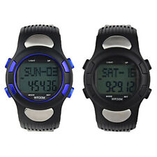 Fitness 3D Sport Pedometer Calories Counter Watch Pulse Heart Rate Monitor