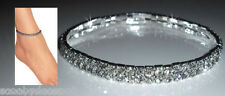 Clear Austrian Crystal Anklets