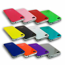 New Stylish Hard Back Case Cover For Apple iPhone 4 & iPhone 4S & Screen Guard