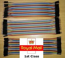 40 pcs 20cm Dupont Jumper Wire Ribbon GPIO Cable Pi Breadboard (F-F/ M-M / F-M)