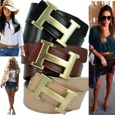 Brand New  Genuine Leather Ladies Wide Designer Belt RRP $79.99