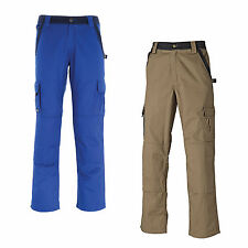 DICKIES INDUSTRIE 300 DEUX TONS PANTALONS DE TRAVAIL KAKI ROYAL/MARINE IN30030