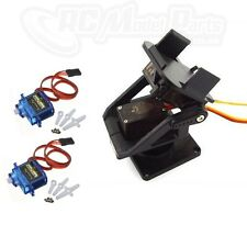 Pan Tilt Camera Gimbal Head Tracker Mount FPV 2x 9g SG90 MG90s Servo * UK SELLER