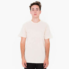 American Apparel Poly-Cotton Short Sleeve Crew Neck - Creme