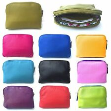 NEW Super Soft Small Leather Credit Card Holder Coin Zip Purse