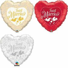 Qualatex Just Married Balloons