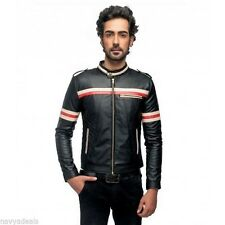 Leather Jacket Biker faux leather jacket Men's Jacket Party wear PU Sale