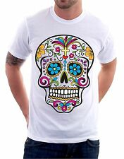 t-shirt skull - teschio messicano - To give happiness by tshirteria N18