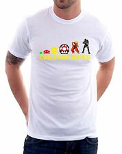 t-shirt tribute video games Games Evolution -To give happiness by tshirteria d90