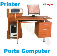 PORTACOMPUTER PC PORTA COMPUTER PRINTER UFFICIO STUDIO CASA MDF OFFERTA SM