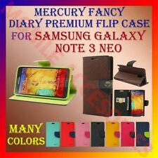 ACM-MERCURY PREMIUM DIARY FLIP CASE for SAMSUNG GALAXY NOTE 3 NEO WALLET COVER