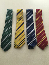 HARRY POTTER HOUSE STYLE TIE..FAANCY DRESS..GRYFFINDOR..RAVENCLAW..HUFFLEPUFF...