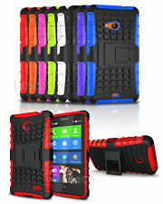 Vodafone Smart Prime 7 Shockproof Tough Silicone Strong Case Built-in Stand