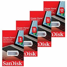 Sandisk 8/16/32/64GB GB Cruzer Force CZ71 USB 2.0 Flash Stick Pen Drive