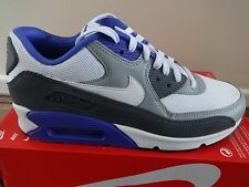 Nike Air Max 90 Essential mens trainers sneakers White/grey 537384 122 NEW