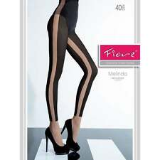 Fiore Melinda opaque and sheer side tights