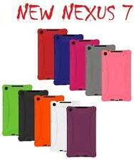 Amzer Soft Silicone Skin Fit Jelly Case For Asus Google New Nexus 7 2013 2nd Gen