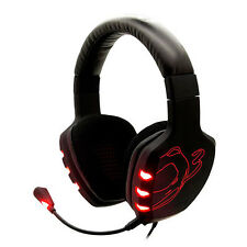 PC Gaming Headset Microphone | 7.1 Stereo Surround Sound Pro Headband OZONE Rage