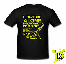 KIMI RAIKKONEN 'Leave Me Alone I Know What I'm Doing' T-SHIRT LOTUS F1 GP